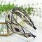 Vintage Lace Hairband Bohemian Geometric Diamond Sequins Embroidered Fabric Headband - 02