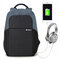 Ekphero Anti-theft Backpack With USB Charging Port Casual Travel Bag For Men