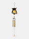 1PC Colorful Owl Pendant Bell Tube Wind Chimes Indoor Outdoor Garden Home Decor Ornaments - #05