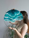 1 PC Round Acrylic Ocean Wave Home Decoration Wall Art Wall Hanging - #01
