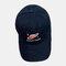 Men & Women Universe Planet Embroidered Baseball Cap Sunscreen Cap - Black