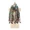 Женское Теплый полиэстер Леопард Полезный туристический шарф На открытом воздухе Повседневный шарф