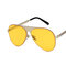 Men Wild HD Metallmatte Sonnenbrille mit UV-Schutz