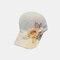 帽子の女性の屋外のアップリケの野球帽の夏の野生の通気性のある空の帽子 - #03