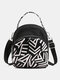 Women Waterproof Multi-carry Bohemia Elephant Print Handbag Crossbody Bag Backpack - #03