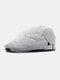 Men Cotton Solid Color Classic All-match Adjustable Forward Cap Berets - Light Grey