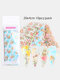 8 Pcs Nail Art Sticker DIY Small Floral Cupid Angel Water Transfer Sticker - #01
