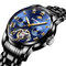 Business Men Watches All Steel Band Automatic Mechanical Watch Waterproof Men Wrist Watch