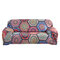 1/2/3/4 Seats Elastic Stretch Sofa Armchair Cover Couch Slipcover Bohemian Pattern Stretch All-Inclusive Sofa Cover - #1