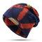 Женская зимняя теплая этническая шапка Шапка Винтаж Хорошая эластичная шапка для шарфа-тюрбана - #01