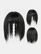 4 Colors Wig Replacement Block Fluffy Chemical Fiber Air Bangs Hair Extensions - #01