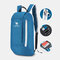 Men Polyester 10L Lightweight Large Capacity Wear-resistance Easy Carry Outdoot Travel Hiking Backpack - Blue