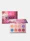 12 Colors Matte Eyeshadow Palette Earth Color Nude MakeupLong-Lasting Eyeshadow - #03