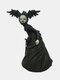 1 PC Resin Nightmare Witch Figurine Statue Dark Bizarre Art Creepy Halloween Sculpture Decorating Bedroom Living Room Garden Patio Yard Lawn Ornament - #01