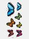 40 piezas 3D estéreo Impermeable tatuajes pegatinas escorpión flor transferencia de agua tatuaje pegatinas - 23
