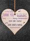 Placa de madeira para presente pendurada com chip de Natal de madeira Pingente Coração Decoração de garrafa de vinho em forma de etiquetas para casa - #11