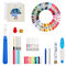 A Set Of Magic Embroidery Pen Punch Needle Kit Craft Cross Stitch Threads Embroidery Hoop DIY Sewing Accessory Tools Kit For Beginners - #3