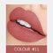 2 In 1 matten Lippenstift Lipgloss Double-Headed Design Wasserdicht Soft Smooth Cosmetic Lip Makeup - #11