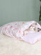 1PC S/M/L Cute Cat Bed Pet Cat Sleeping Bag for Cats Kitten Kennel Star Floral Mattress Pet Bed With Pillow - 1