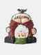 鳥の像の樹脂の庭の芝生の正面玄関の装飾が付いているGnomeの小人から面白い臀部の歓迎のズボン - #01