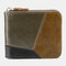Genuine Leather Multi-slots Casual Card Holder Wallet Purse For Men - #05