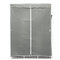 Large Canvas Fabric Wardrobe With Hanging Rail Clothes Shelves Storage Cupboard - Grey