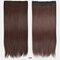 26 цветов длинные прямые Волосы удлинители 5 зажимов ложные Волосы шт. Высокотемпературное волокно Парик - 14
