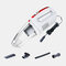 Car Vacuum Cleaner Powerful Suction USB Charging Handheld 120W Dry / Wet Portable Vacuum Cleaner - White