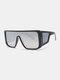 نظارات شمسية رجالية بإطار كامل من قطعة واحدة مقاومة للرياح UV حماية - #02