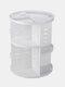 360 Rotating Makeup Organizer Detachable multifunctional Cosmetic Storage Box - White