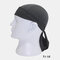 Quick-drying Turban Perspiration Breathable Sunscreen Outdoor Riding Pirate Hat - Gray