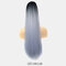 16 Colors Corn Hot Ponytail High Temperature Fiber Elastic Net Fluffy Breathable Ponytail - #08