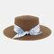 Women Travel Vacation Beach Hat Jazz Straw Hat Sun Protection Sun Hat - Coffee