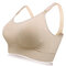 Soft Front Button Wireless Anti Sagging Breast-feed Nursing Bras