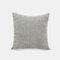 Couleur unie oreiller coussin salon canapé coussin plaine moderne minimaliste chevet taille taie d'oreiller - Gris clair
