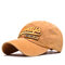 Men Women Cotton Washed Sunshade Always Embroidery Baseball Cap Hip-hop Adjustable Hat Snapback Cap - Yellow