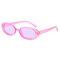 Солнцезащитные очки в стиле ретро с овальной коровью солнцезащитные очки Fshion
