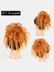 41 Colors Chicken Tail Hair Ring Messy Fluffy Rubber Band Curly Hair Bag Wig - 40