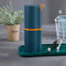 Travel Wash Cup Set Tooth Cylinder Simple Brushing Cup Toothpaste Storage Box Travel Toothbrush Box - Dark Blue