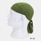 Quick-drying Turban Perspiration Breathable Sunscreen Outdoor Riding Pirate Hat - Army Green