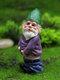 ドワーフおかしいミニチュア妖精の庭おしっこ酔ったノームエルフの装飾品手工芸品屋外樹脂盆栽庭の装飾 - #02