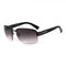 Men's Woman's Fshion Driving Glasses Driving Mirror Retro Metal Frame Sunglasses - #02