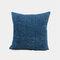 Couleur unie oreiller coussin salon canapé coussin plaine moderne minimaliste chevet taille taie d'oreiller - Bleu foncé