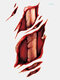 Halloween Temporary Tattoo Sticker Party Props Horror Bloody Scar Tattoo Transfer Paper - #11