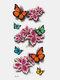 40 piezas 3D estéreo Impermeable tatuajes pegatinas escorpión flor transferencia de agua tatuaje pegatinas - NO.
