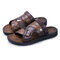 Men Opened Toe Comfy Soft Slip On Casual Water Beach Sandals