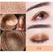 Beezan Baked Glitter Paleta de sombras de ojos Naked Waterproof Mineral Shimmer Metálico Eye Shadow Powder - # 02