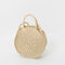 Round Straw Bags Summer Beach Bags Crossbody Bags For Women