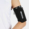 6.5 Inch Phone Holder Reflective Running Travel Outdoor Cycling Safe Sport Coin Key Wrist Wallet - Black 2