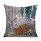Retro Style Cats Leinen Baumwolle Kissenbezug Home Sofa Art Decor Throw Kissenbezug - #7